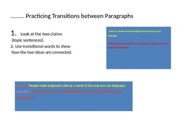 Transitional Practice
