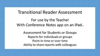 Transitional Reader Assessment