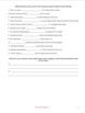 Transitional Words Worksheet