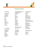 Transitional Words and Phrases (Keep this handy)