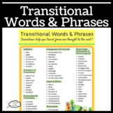 Transitional Words and Phrases for Poster or Handout Use