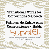 Transitional Words for Compositions & Speech - Spanish and