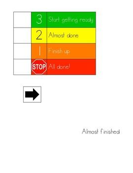Transitioning - Visual Support