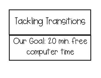 Transitions Behavior Management Chart