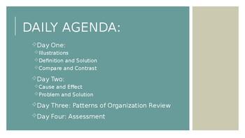 Transitions Part 2 - Patterns of Organization Unit - Secondary ELA
