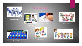 Transitions Slide with Music