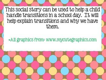 Transitions Social Story