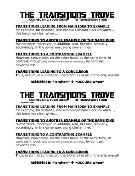 Transitions Trove