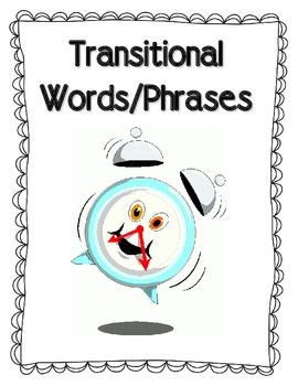 Transitions Words Book