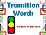Transitions Words in Spanish_Traffic Light