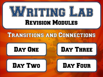 Transitions and Connections - Writing Lab Revision Module