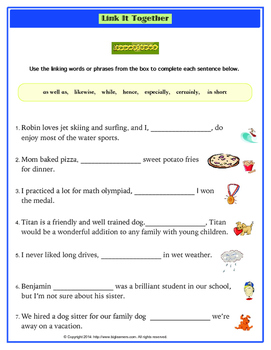 Transitions and Linking Words