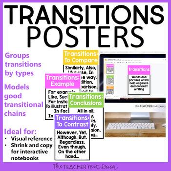 Transition in essay