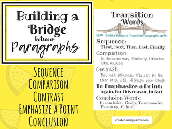 Transitions in Writing Poster