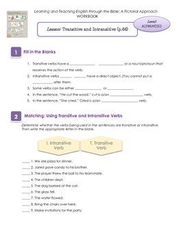 Transitive verb practice