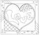 Translating Algebraic Expressions Valentine's Day Coloring Activity