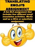 Translating Emoji's ELA Assignment