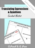 Translating Equations and Expressions