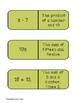 Translating  Algebraic Expressions Dominoes