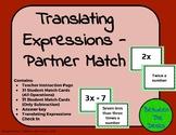 Translating Expressions Partner Match