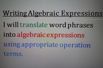 Translating Graphic Organizer
