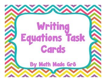 Translating Math Task Cards