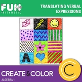 Translating Verbal Expressions Create and Color