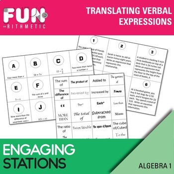 Translating Verbal Expressions Stations