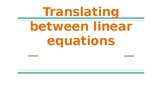 Translating between 3 forms of Linear Equations