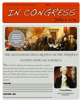 Translating the Declaration of Independence