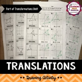 Transformations (Translations) Drawing Activity