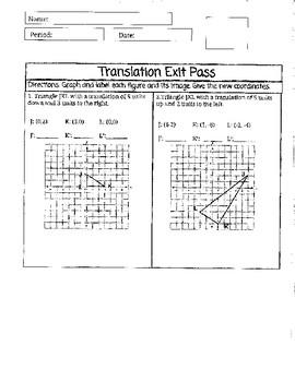 Translation Exit Pass