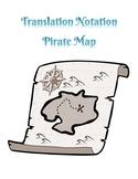 Translation Notation Pirate Map