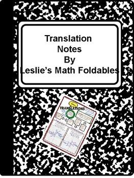 Translation Notes/Graphic Organizer