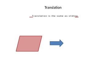 Translation, Reflection, and Rotation