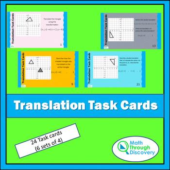 Translation Task Cards