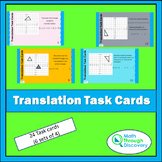 Geometry - Translation Task Cards