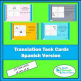 Translation Task Cards (Spanish Version)