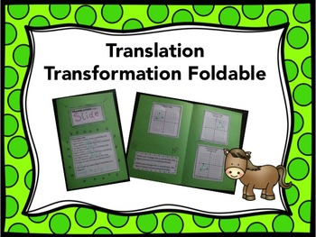 Translation Transformation Foldable