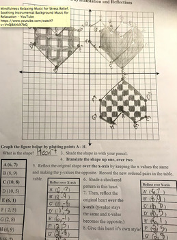Translation and Reflections on the Coordinate Plane