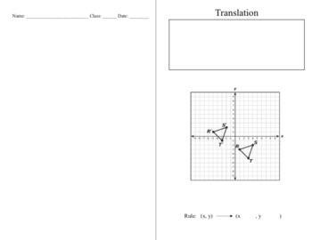 Translations 8.10C Bare Bones Foldable