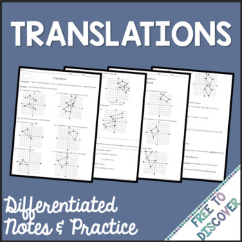 Translations Notes and Practice (Differentiated)