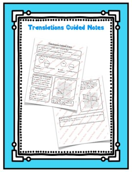 Translations Guided Notes