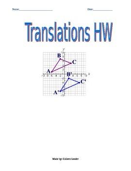Translations Homework