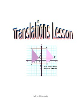 Translations Lesson