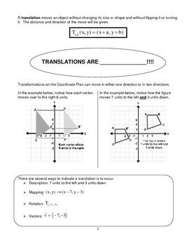 Translations Packet