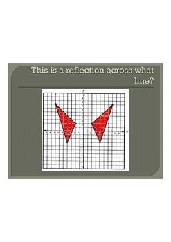 Translations, Reflections, Rotations BINGO