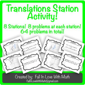 Translations Station Activity!
