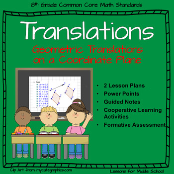 Translations - Transformation in 8th Grade Geometry