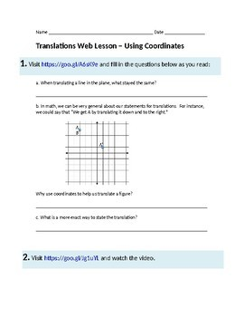 Translations Web Lesson
